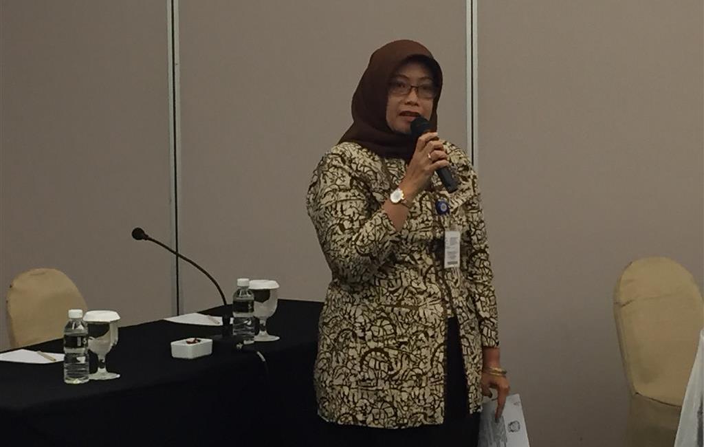 Mrs. Ririn Afrianda conveyed that regional government fully supports GI initiatives. Surabaya, 16 February 2017.