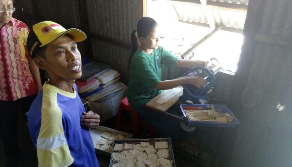 Visiting Mulya Mandiri (mango based snack)