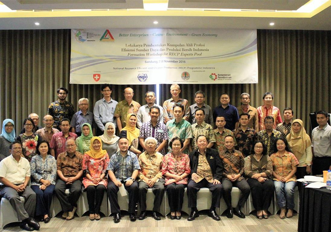Founders of Indonesia RECP Experts Pool. Bandung, 07 November 2016.