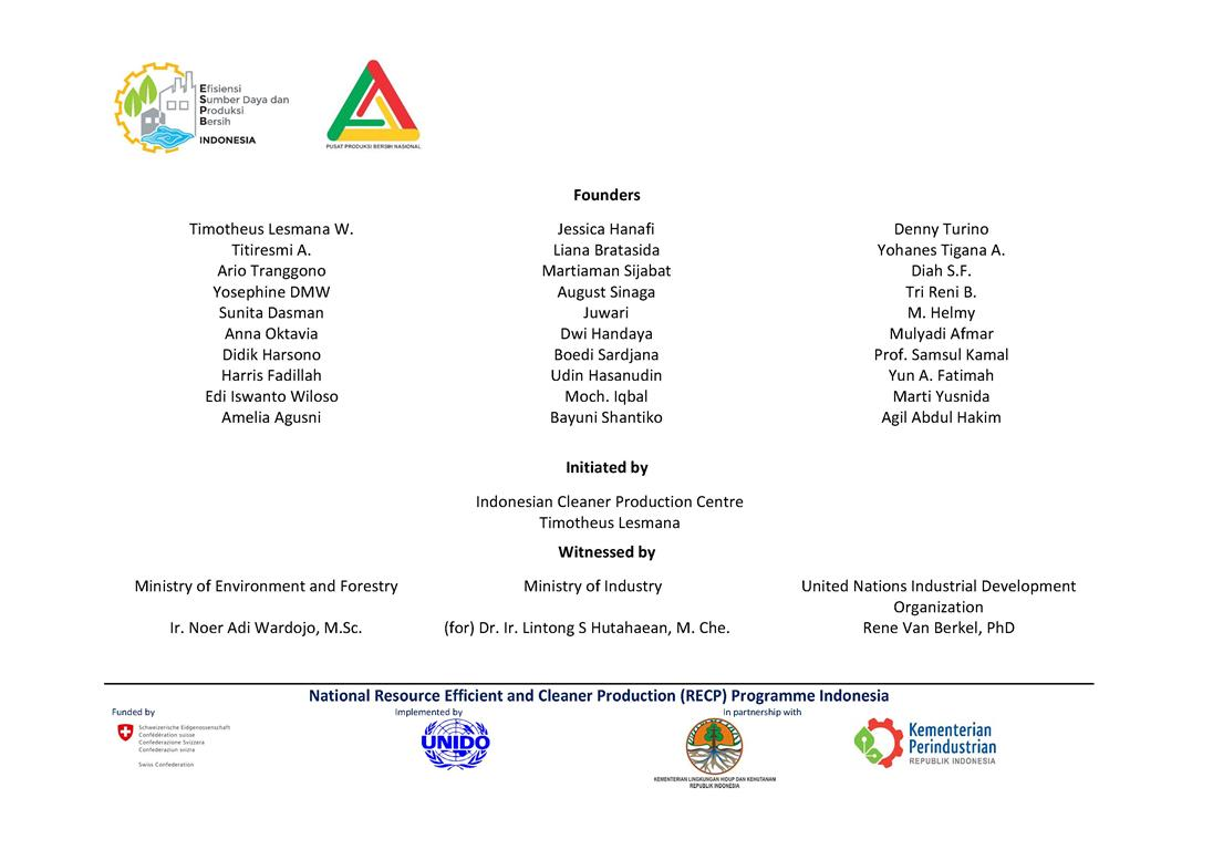 The declaration for formation of Indonesia RECP Experts Pool (3)